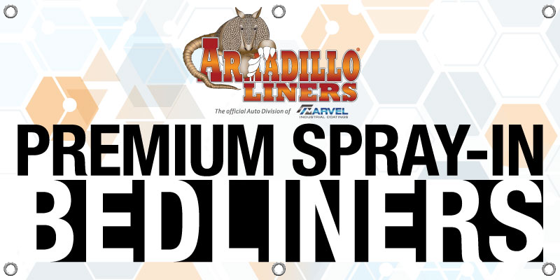 Armadillo Liners Banner