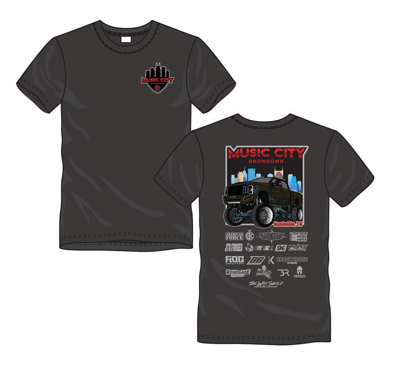 Music City Shirt Design
